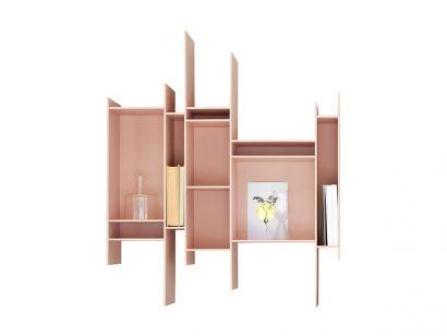 Randomito Wall Bookcase Color