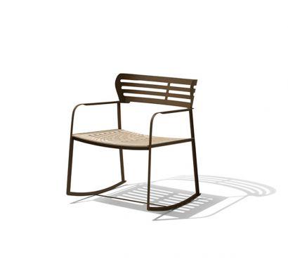 Gea Rocking Chair Outdoor