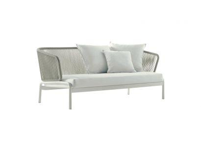 Spool Sofa 003 - Smoke / gray
