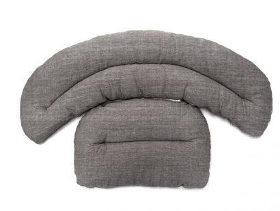 Roly Poly Armchair Cushion - Oslo Grigio 09