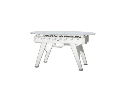 RS#2 Dining Counter Oval Table - White / Indoor Outdoor Personalised Teams