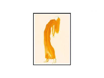 The Saffron Dress Print
