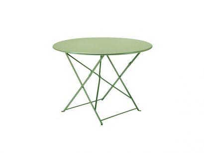 Flower Table Ø105 - Sage Green