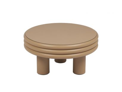 Scala Leather Coffee Table Low