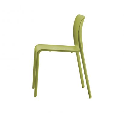 First - Chaise empilable - Vert acide