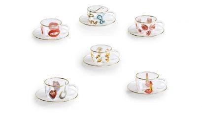 Collection de Tasses à Café Seletti