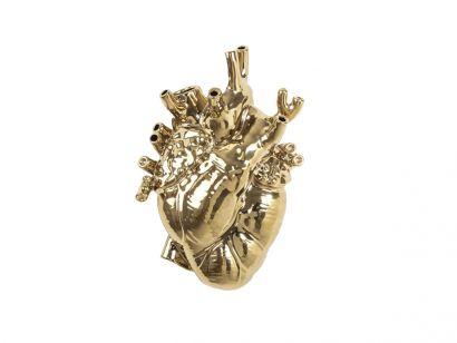 Love in Bloom Gold Vase