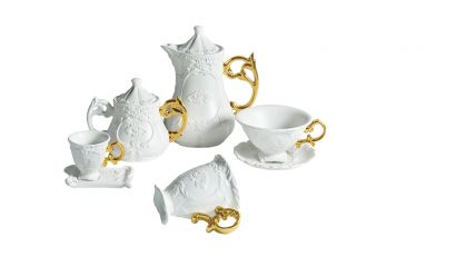 I-Wares Coffee and Tea Service Gold