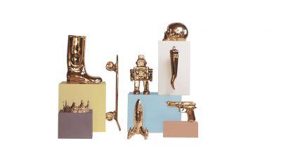 Gold Limited Edition Memorabilia in Porcelain
