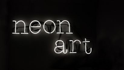 Neon Art lamp - Alphabet