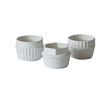 """Set 3 Cups  """"MACHINE COLLECTION"""" cod 10908"""