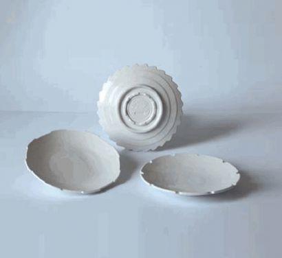 "Set 3 Fruit Plates ""MACHINE COLLECTION"" cod 10913"