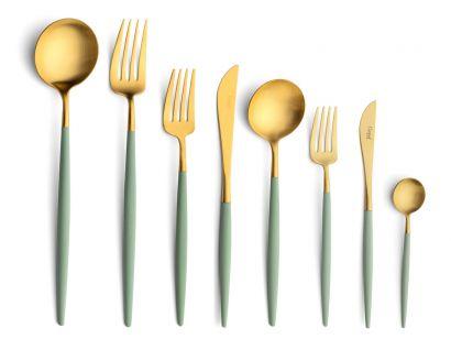 Goa Celadon Gold 75 Pieces Set