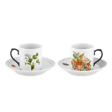 Petites Histoires Set 2 Coffee Cup and Saucers