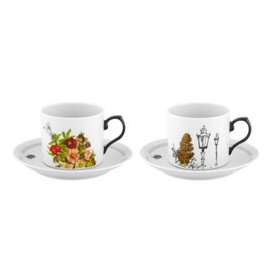 Petites Histoires Set 2 Tea Cup and Saucers