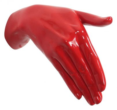 Shake Coat Hager Red