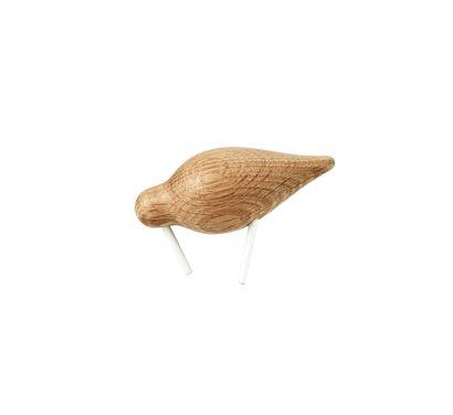Shorebird Decorative Object - Small/White