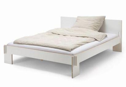 Siebenschlafer Bed 160 with Headboard