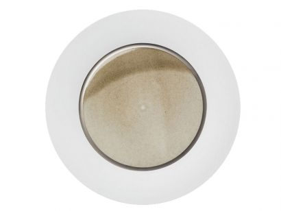 Silent Brass Platinum Presentation Plate Charger