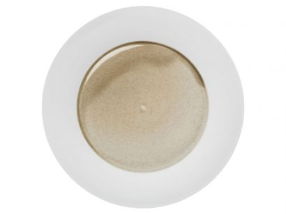 Silent Brass Presentation Plate Charger