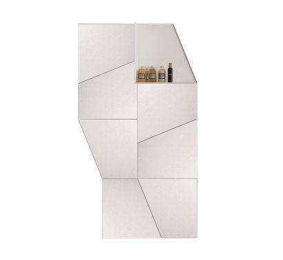 Slide Specchio Composizione con Mensola