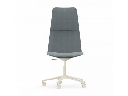 Slim 825 - Conference High 5 Chair with Wheels