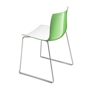 Catifa 46 Chair - Sled Base / Bicolor Polypropylene