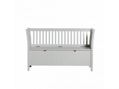 Seaside Small Bench-Grey
