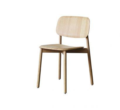 Soft Edge 12 Chaise bois