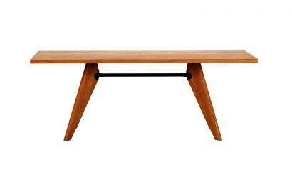 Solvay Table American Walnut