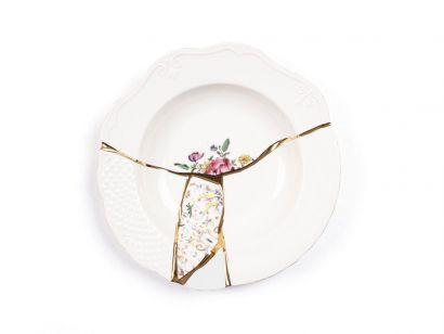 Kintsugi Soup Plate 09623