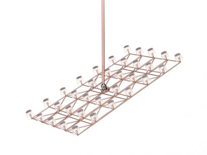 Space - Frame Small Suspension Lamp