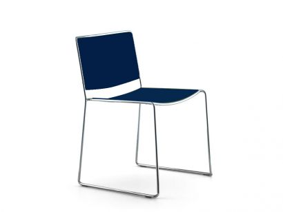 Spindle Chaise - Couleur Laquée Blue Storm