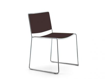 Spindle Chaise - Couleur Laquée Café