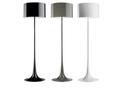 Spun Light F - Floor Lamp