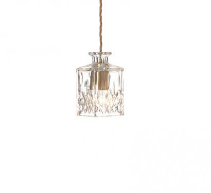 Square Decanterlight Lampe à suspension