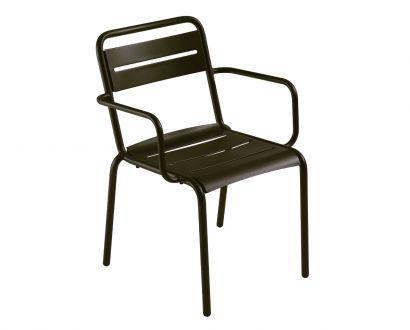 Star Chair with Armrest