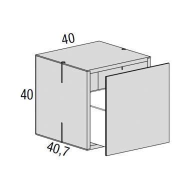 Net Meuble de rangement avec tiroir profond