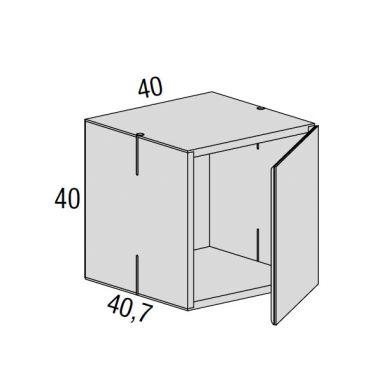 Net Meuble de rangement avec porte