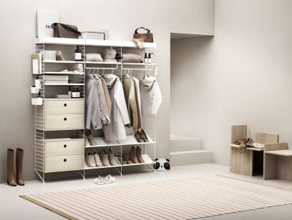 String Walk-In Closets