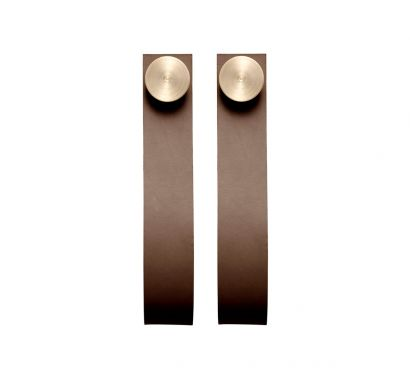 Stropp Hooks - Set of Two - Brown/Brass