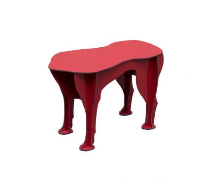 Sultan Table Basse - Rouge