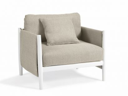 Switch Fabric Lounge Chair