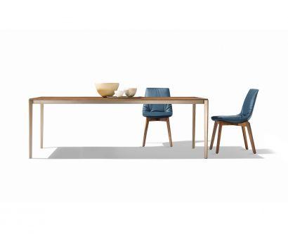 Tak Extendable Table - Oak/Bronze