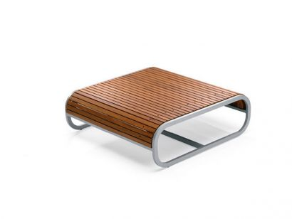 Tandem Square Coffee Table by EgoParis