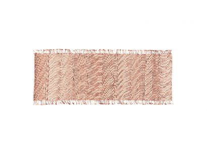 Lines Rug 230x100 Red