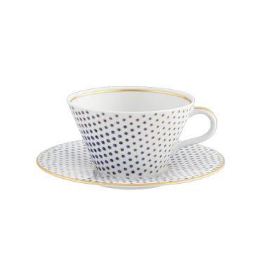 Constellation D'Or Tasse à thé et soucoupe