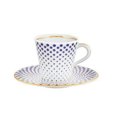 Constellation D'Or Tasse à café et soucoupe