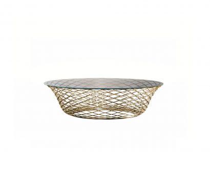 Teso Coffee Table - Bronze