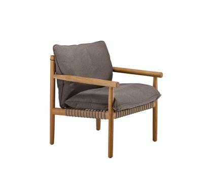 Tibbo Lounge Chair - 122 Vulcano/652 Warm Gray